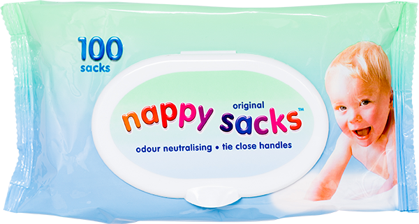 Polylina provide nappy sacks as used by well-known UK brand Nappy Sacks